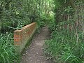 Footbridge on High Weald Landscape Trail - geograph.org.uk - 1436162.jpg