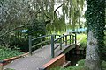 Footbridge over the stream - geograph.org.uk - 1496488.jpg
