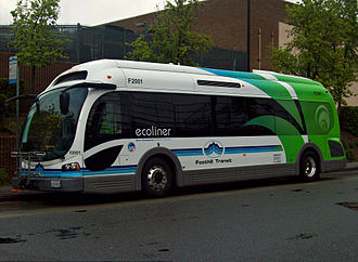 Proterra, Inc. - BE35 bus