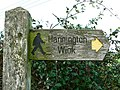 Footpath sign - geograph.org.uk - 302555.jpg