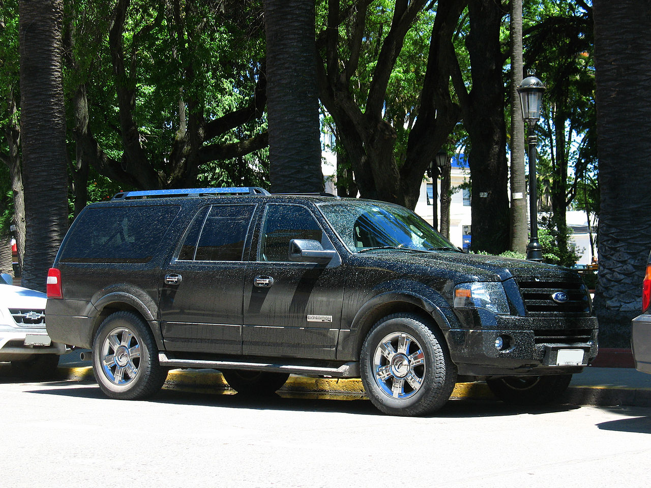file ford expedition el limited 2007 16287650676 jpg wikimedia commons. Black Bedroom Furniture Sets. Home Design Ideas