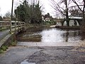 Ford through the River Bourne at Winterbourne Dauntsey - geograph.org.uk - 337551.jpg