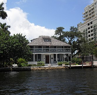New River (Broward County, Florida) - Stranahan House, the oldest building in Fort Lauderdale, originally built as a trading post