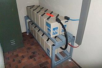 Battery room - Battery room