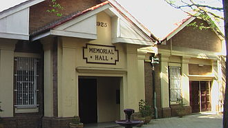 Fort Street High School - School assemblies and special events are held at the Memorial Hall