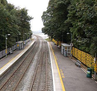 Fota railway station - Image: Fota Station in 2011
