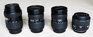Lenses for SLR and DSLR cameras