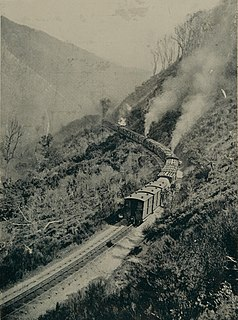 Rimutaka Incline former railway line