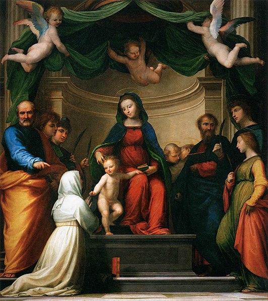 File:Fra Bartolomeo - The Marriage of St Catherine of Siena - WGA01362.jpg