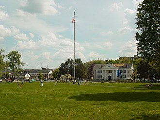 Framingham, Massachusetts - The Common in Framingham Center