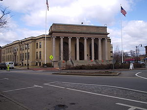Framingham, Massachusetts - The Memorial Building, Framingham's town hall