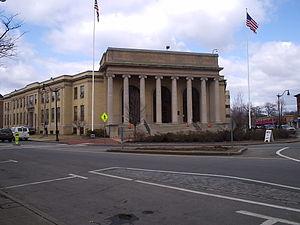 Framingham, Massachusetts - The Memorial Building, Framingham's town hall