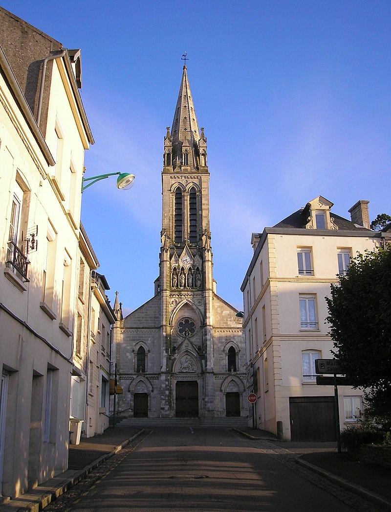 L'église Saint-Clair-et-Saint-Martin.