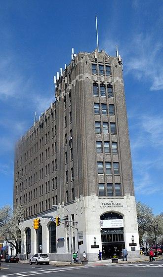 Bloomfield, New Jersey - Frank M. Leo Associates Building in downtown Bloomfield