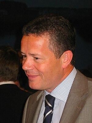 Vlaams Blok - Frank Vanhecke (seen in 2008) succeeded Karel Dillen as leader of the Vlaams Blok in 1996.
