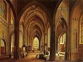 Frankfurt Am Main-Johann Ludwig Ernst Morgenstern-Das Innere einer gotischen Kirche-1793.jpg