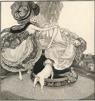 Franz von Bayros - An example of the erotic art of Franz von Bayros
