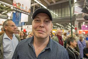 Fredrik Backman - Backman at Bokmässan 2013