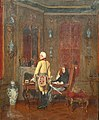 Fritz Werner An officer and a woman in an elegant interior.jpg
