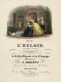 Fromental Halévy, L'Éclair score cover - Restoration.png
