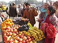 Fruits Stall - Gangasagar Fair Transit Camp - Kolkata 2012-01-14 0846.JPG