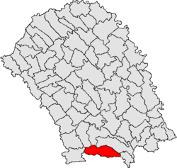Location of Frumușica, Botoșani