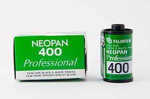 Neopan - Fujifilm Neopan 400 black and white film for 35mm cameras