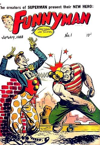 Magazine Enterprises - Image: Funnyman 1