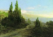 Fyodor Vasilyev Evening in the Crimea 11029.jpg