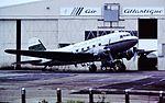 G-AMCA DC3 Air atlantique CVT 30-10-87 (30244333902).jpg
