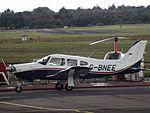 G-BNEE Piper Cherokee Arrow 28R (29710477646).jpg