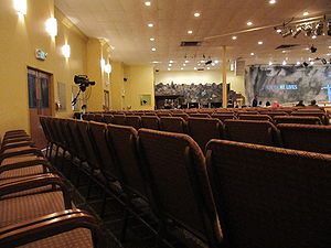 Greater Grace World Outreach - A section of GGWO'S 1,200 seat church auditorium.