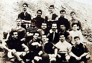 Galatasaray S.K. (football) - The first ever recorded photo of Galatasaray (1905)