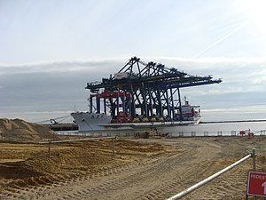 Great Yarmouth Outer Harbour - Image: GYOH Zhen Hua 6