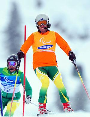 Australia at the 2010 Winter Paralympics - Image: G Andrew Bor SL01 cropped