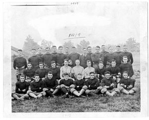 1919 Georgia Tech Golden Tornado football team - Image: Ga Tech 1915