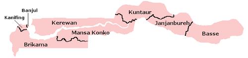 Gambia-LGAmap