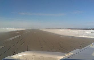 Gander International Airport - Runway at Gander International Airport