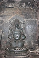 Ganesh sculpture in Mallikarjuna temple at Kuruvatti.JPG