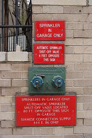 Fire sprinkler system - Garage sprinkler system in New York City