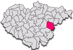 Commune Gârbou in Sălaj County