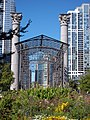 Garden in Northeast Grant Park Chicago.JPG