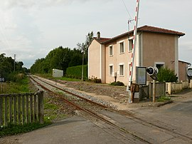 The former railway station of Grez-Gaudechart