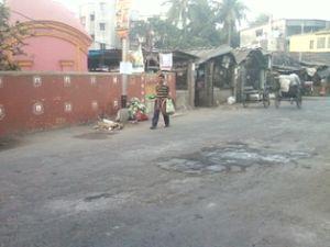 Garfa - Garfa Shiv Mandir bazar area