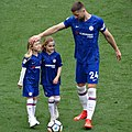 Gary Cahill after his last Chelsea appearance at Stamford Bridge.jpg