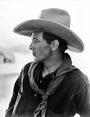 Gary Cooper - Cooper in The Winning of Barbara Worth, 1926