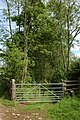 Gate to a green lane, near Bollington - geograph.org.uk - 448492.jpg