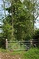 Gate to a green lane, near Bollington - geograph.org.uk - 448492.jpg