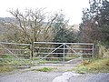 Gated access to Glencovey - geograph.org.uk - 1575695.jpg