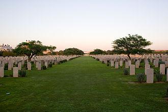 Gaza Strip - Gaza War Cemetery